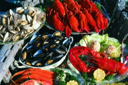 Fresh Seafood - Photo Credit: Nova Scotia Department of Tourism & Culture